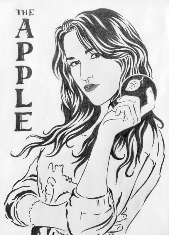 Рисунки карандашом графика портрет
