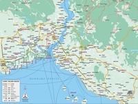 Карта Стамбула